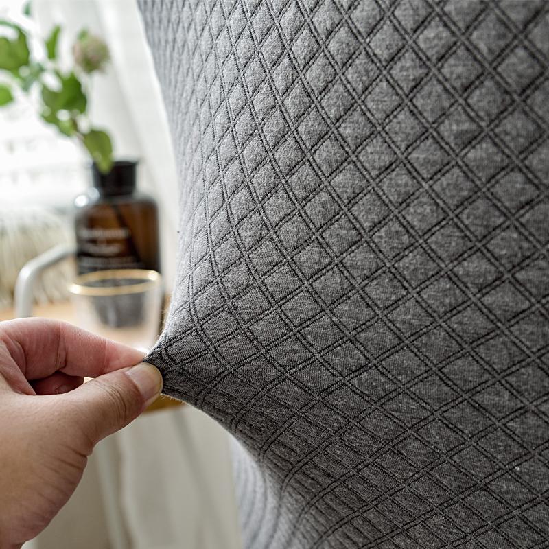 连体弹力餐椅套椅垫坐垫家用酒店凳子套简约餐桌椅子套罩通用布艺