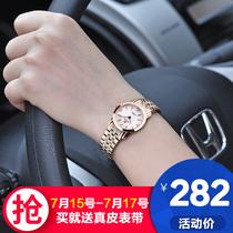 正品牌女表手链表防水钻手表女表韩国时尚潮流钢带学生女士手表女