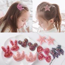 子供のヘアアクセサリー韓国のかわいいスパンコールのポスト赤ちゃん販売かわいいヘッドジュエリー前髪ステッカー女の子壊れた髪のステッカーマジックステッカー