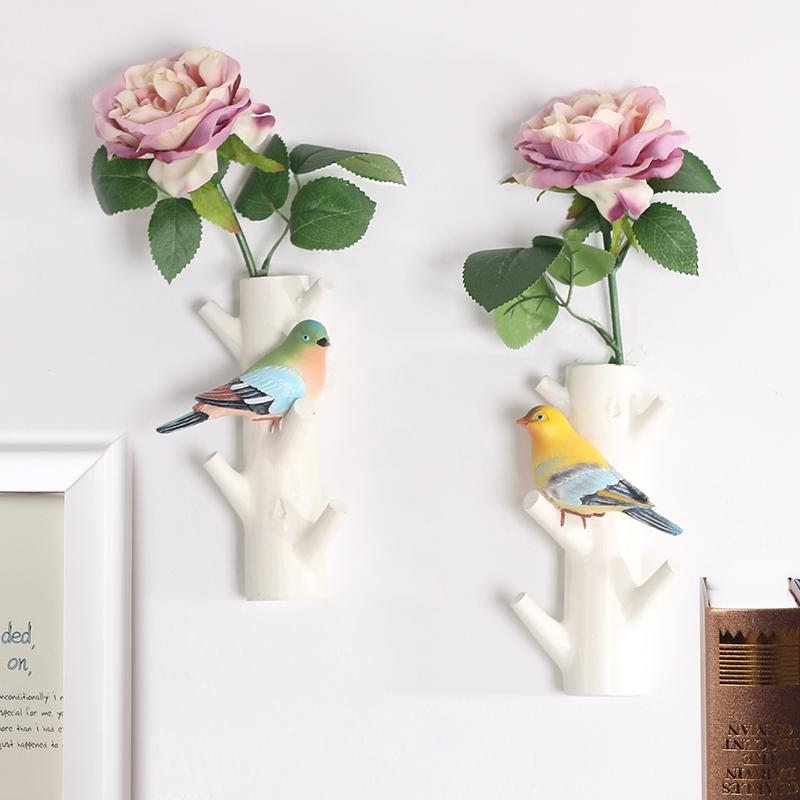 创意美式装饰挂钩门口玄关挂钥匙壁挂衣帽架墙上收纳墙壁复古个性