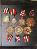 军功章民国勋章大全套7枚 民国勋章