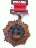 影视道具勋章 抗日勋章 第三战区长官顾祝同赠 抗日荣誉纪念章图片