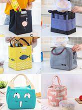 手提袋女拎防水饭盒袋保温包 加厚铝箔保温袋便当袋帆布大号带饭