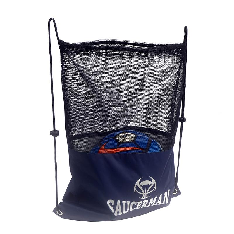 便携篮球袋篮球包运动包抽绳袋足球袋游泳网兜双肩网袋定制球袋
