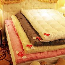 保暖席梦思上下床褥子四季塌塌米可折叠双人多功能两用床垫加厚