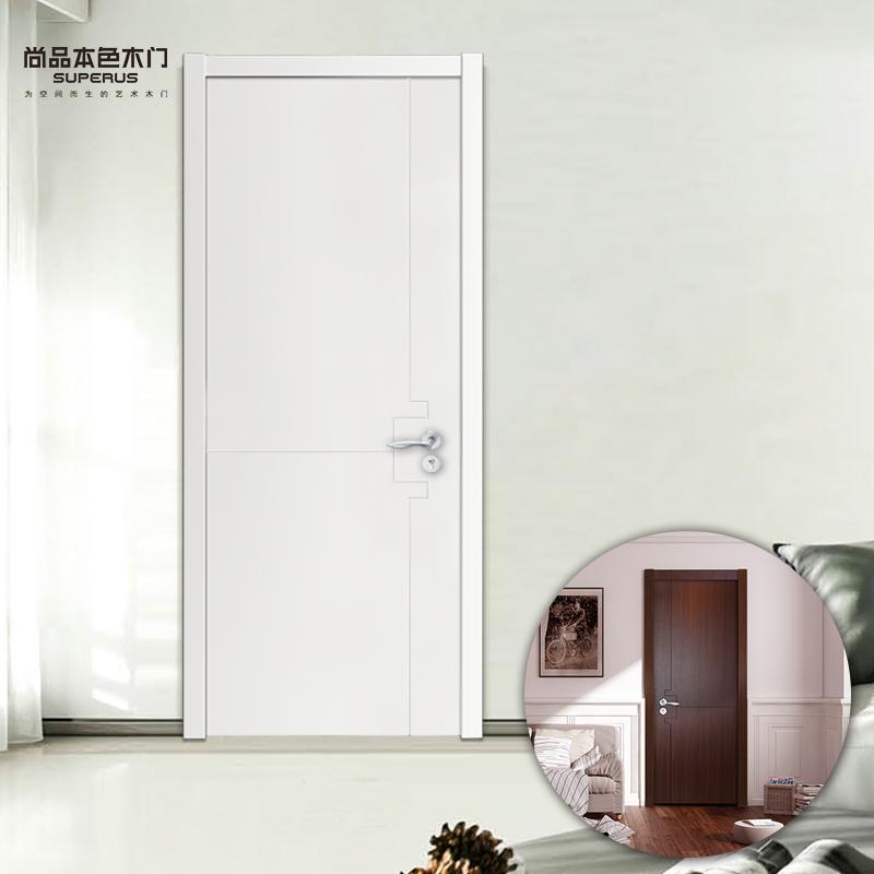 尚品本色简约实木复合门sp9049