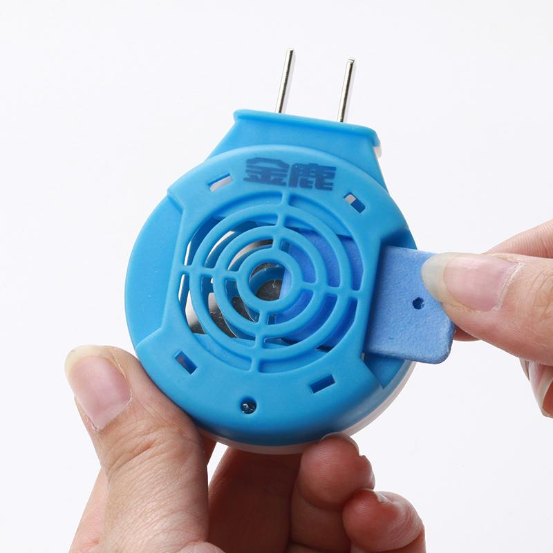 金鹿电热蚊香片72片送加热器套装插电式家用驱蚊防蚊灭蚊片无味型