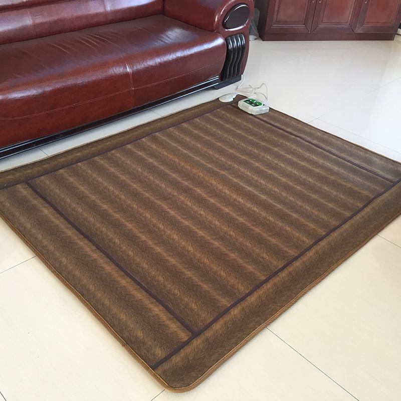 韩国移动地暖垫碳晶纤维电热毯地热炕板电加热地热垫2米超大包邮