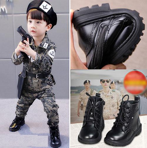 中大童中筒靴