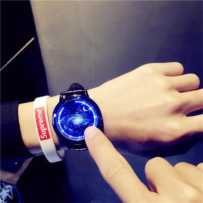 led电子表触屏手表