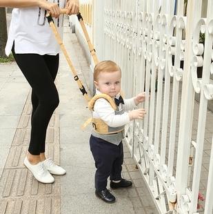 宝宝学步带婴幼儿学走路防摔防勒小孩两用牵引带春夏可调大小透气