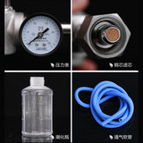 Medical Oxygen Cylinder Valve Switch Valve Fittings Flow Gauge Pressure Reducing Valve Joint Fish Jump Buoy Inhaler