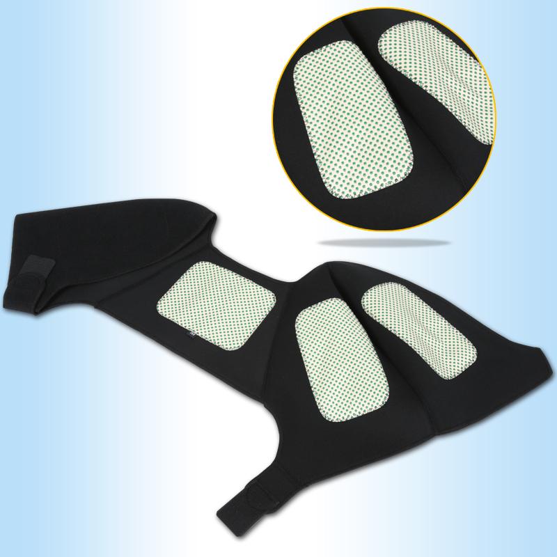 可孚护肩男女通用中老年人磁石自发热理疗保暖护肩包邮