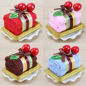 创意蛋糕毛巾实用结婚礼回礼生日礼物幼儿园周岁满月酒女生小礼品