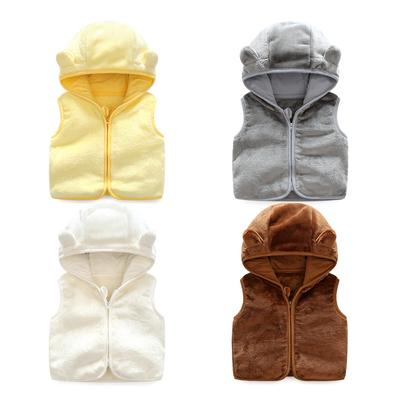 女童婴儿衣服秋装0岁3个月4男宝宝马甲外套6新生儿马夹小童春秋装