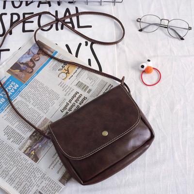 兔子家-包邮 好搭的文艺复古小皮包迷你单件斜挎软皮纯色小包新款