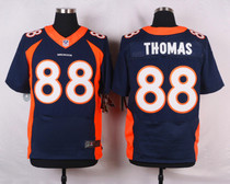 NFL球衣 丹佛野马Denver Broncos 88# Demaryius Thomas 刺绣球服
