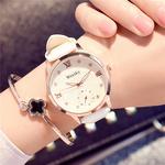 手表女学生韩版简约个性白色休闲防水潮流欧美大气时尚装夜光女表