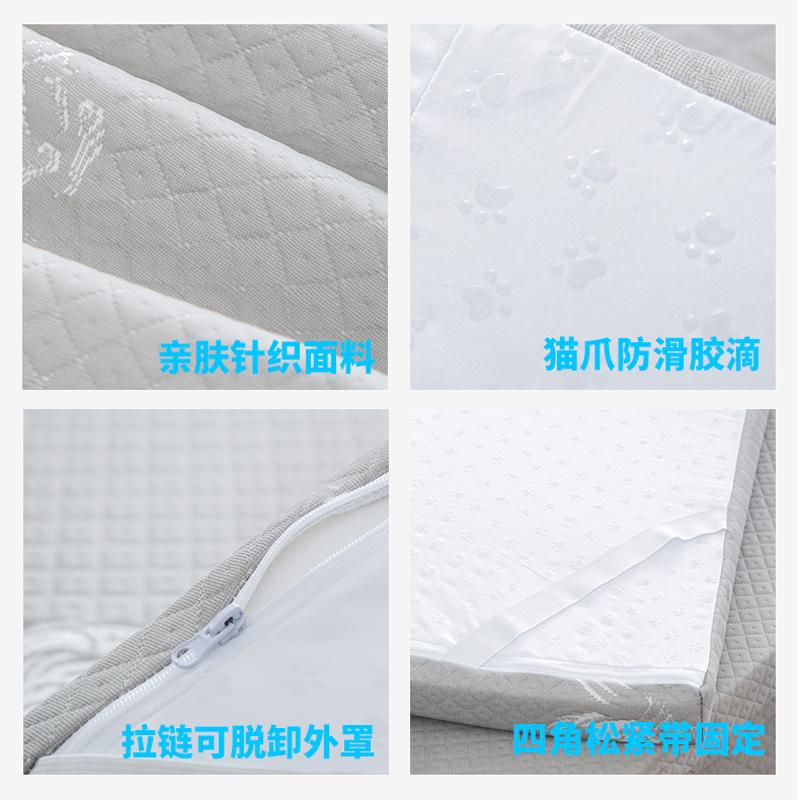 海绵床垫1.5m仿记忆乳胶回弹棉席梦思软垫1.2米加厚学生宿舍褥子