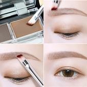 ?卡姿兰眉粉双效眉粉彩妆不易脱妆眉笔黑色染眉膏带眉刷