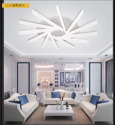 LED亚克力吸顶灯圆形艺术灯现代简约太阳花卧室客厅灯具 厂家直销年中大促