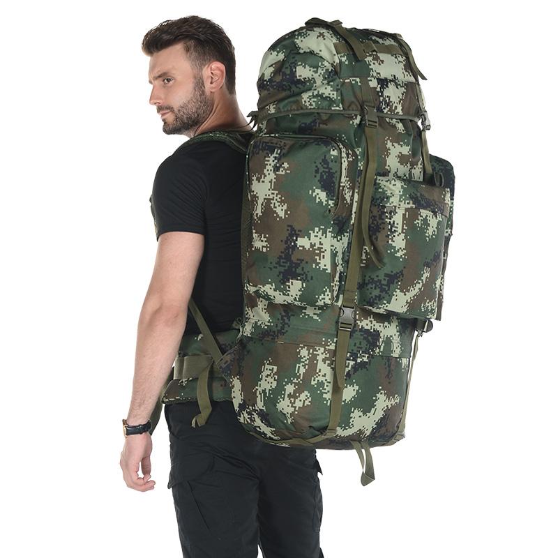 户外登山包男女大容量双肩背包07背囊行李包旅行包徒步背包战术包