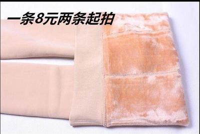 光腿神奇韩国秋冬季隐形肉色打底袜女加绒加厚款假透肉美腿连裤袜