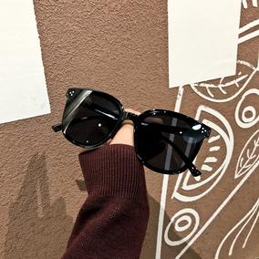 2019韩版三点平面太阳镜李易峰机场时尚潮帅酷墨镜ins大圆脸眼镜
