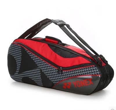 2018新款包邮YY羽毛球包双肩背包6-9支装网球拍包男女运动背包
