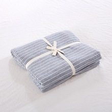 Cotton Printed Bed Ham Mattress Cover 1.2 Single Sheet Simple Pure-colour Knitted Geranium Cotton 1.51.8m Bed Cover