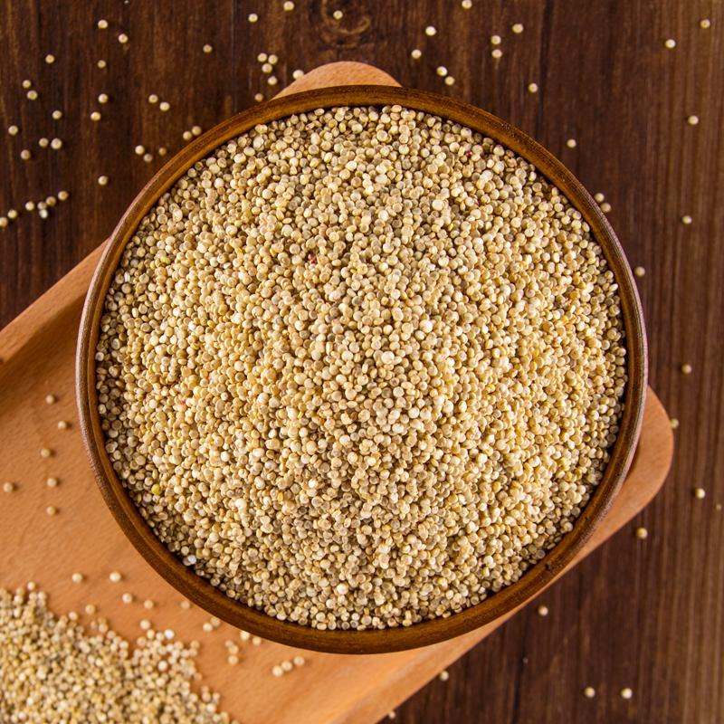白藜麦米5斤 青海农家一级代餐黍麦宝宝婴儿五谷杂粮饭高原黎麦米
