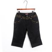 中老年保暖羽绒靴裤 五分裤 外穿显瘦七分裤 鸭绒女士七分羽绒裤