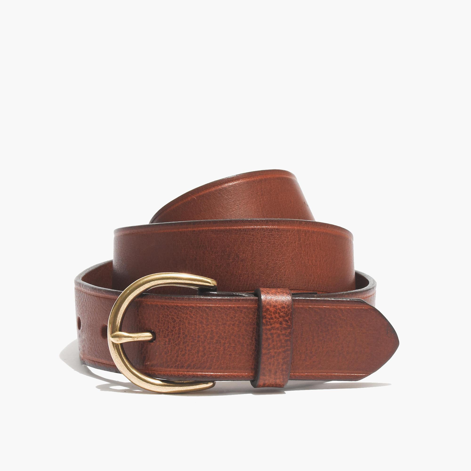 裸色在途特价!Madewell 正品 纯牛皮 4色 金属扣 腰带 皮带