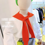 2019 Autumn and winter Wild boy fake collar Girl concave shape shawl Ocean tide ~~~