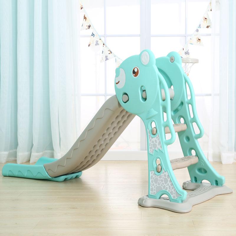 多功能塑料滑梯秋千组合儿童滑滑梯室内家用游乐场幼儿园玩具包邮