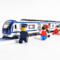 高铁合金火车动车地铁轻电车头磁力声光真人语音汽车模型玩具