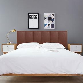 魔术贴安装 环保床头靠垫 榻榻米软包背景墙 防撞墙围 皮革卡座垫