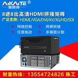 Stitching processor multi-screen 4/6/8/9/12/16 road large screen controller HDhdmi hybrid matrix dvi