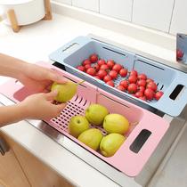 抹布收纳篮水池置物架水龙头海绵沥水收纳架厨房水槽塑料沥水篮