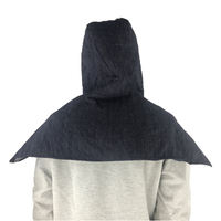 Dust hats for men and women industrial dust protective cap site handling electric welding denim shawl work cap labor insurance hood