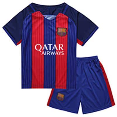 儿童足球服套装男童球星球迷球衣男孩夏季运动服幼儿园表演班服