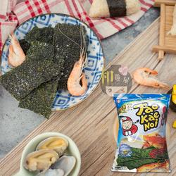 小老板海苔即食大片海鲜味泰国进口袋装康熙来了推荐美食1812