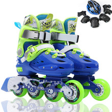 Fancy skates children's full set of roller skates adult flat flower roller skates beginner 3-5-6-8-10 years old
