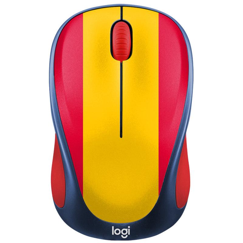 国行罗技M238无线光电鼠标世界杯卡通可爱笔记本台式电脑办公游戏