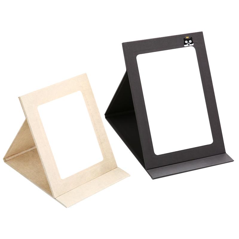 折叠化妆镜桌面镜子家用大号学生宿舍小镜子女随身镜便携梳妆镜