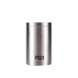 Fuguang tea can metal 304 stainless steel tea sealed can convenient mini small tea household box