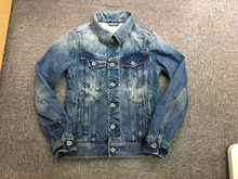 UNSOLUTE (insoluble) LAB JKT washed jeans jacket