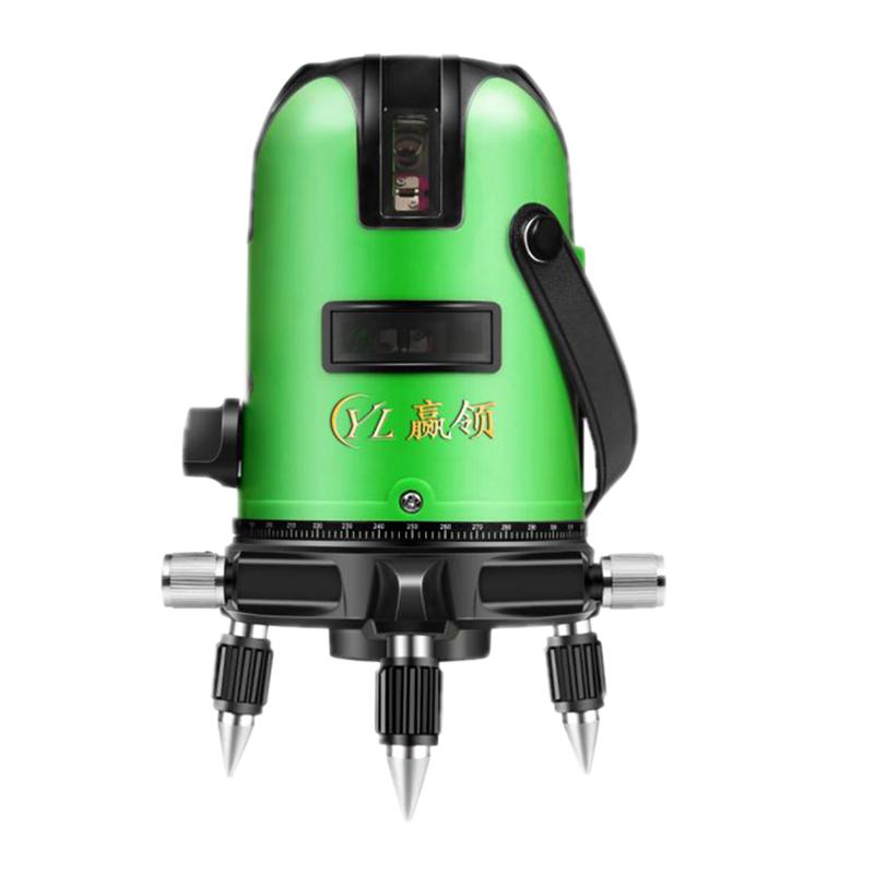 绿光水平仪激光2线3线5线红外线强光高精度自动打线投线仪平水仪