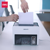 Deli 9931 desktop shredder Electric personal office Mini silent confidential Breakable credit card
