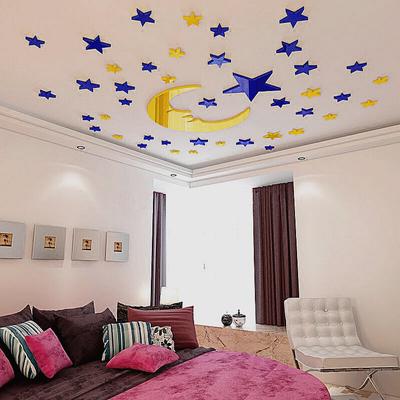 墙上装饰品贴画3d立体卧室